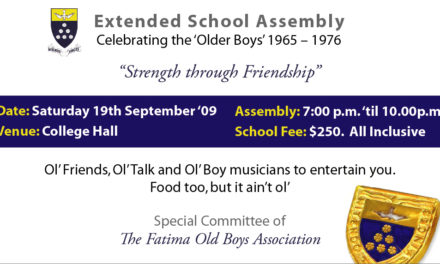 Extended School Assembly (1965-1976 Reunion)