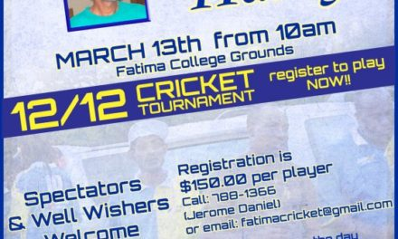 Harry Ramdass Tribute Cricket Tournament