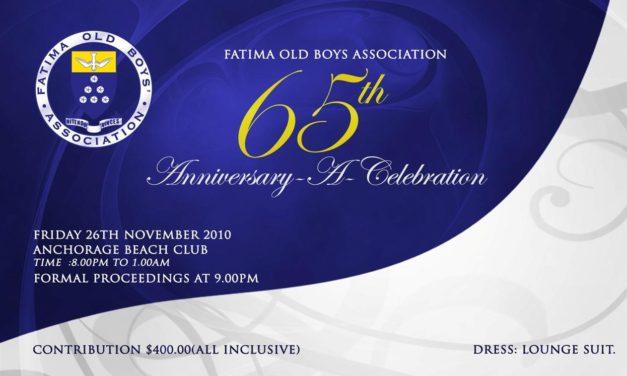 Fatima Celebrates 60th Anniversary