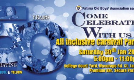 Fatima All-Inclusive Fete 2016 : Alumni Ticket Lottery