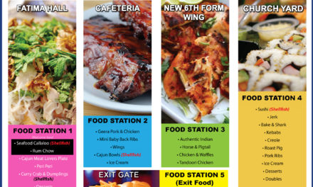 #FatimaFete2016 – Food Menu