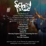 School Daze – THANK YOU!
