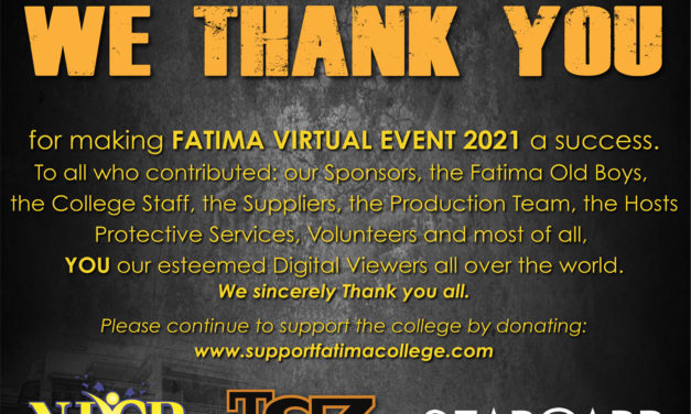 Thank You – Fatima STRIVE ON!