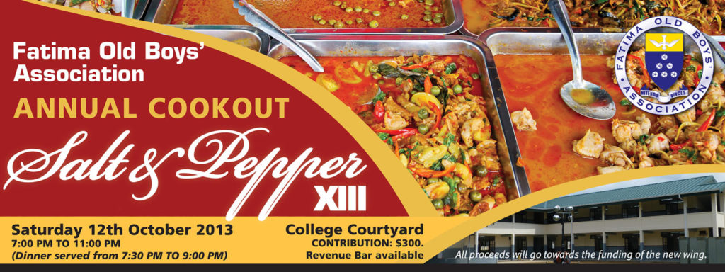 Salt and Pepper Cookout XIII
