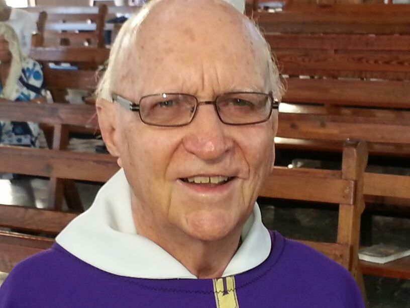 Fr. Girod celebrates 50 years as a priest in June.