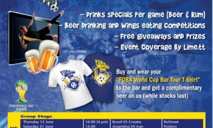 FOBA Alumni World Cup 2014 Bar Tour !