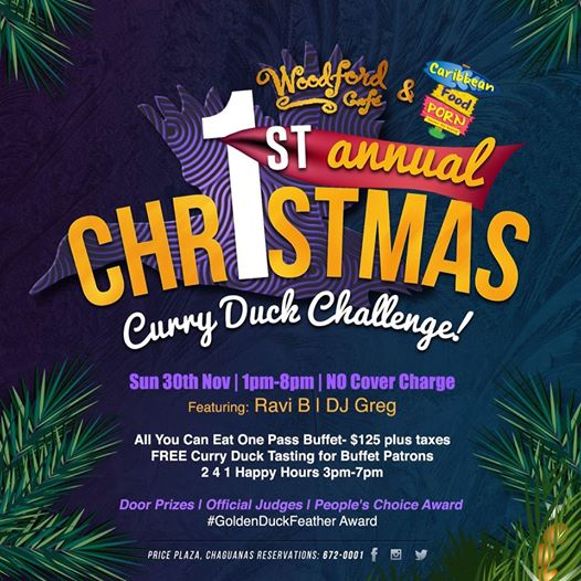 Christmas Curry Duck Challenge