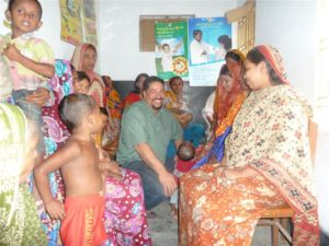Helping to improve health care in Bangladesh