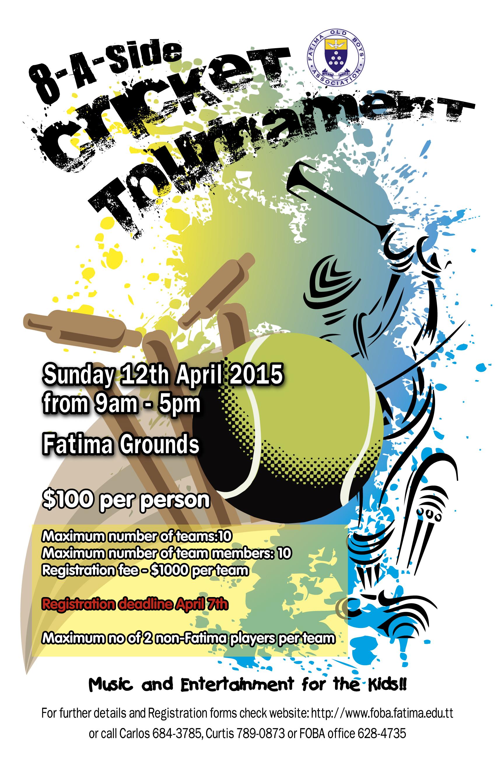 cricket tournament invitation template invitationjadi co