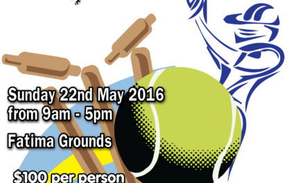 8-A-Side Cricket Tournament 2016!