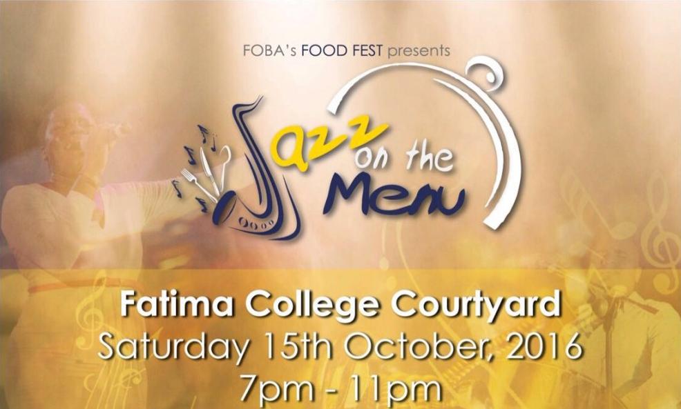 FOBA's Food Fest presents Jazz on the Menu