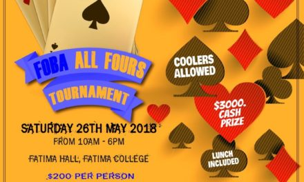 2018 All Fours Tournament
