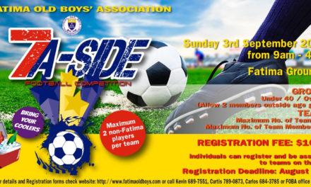 Register for the 2017 Football Tournament