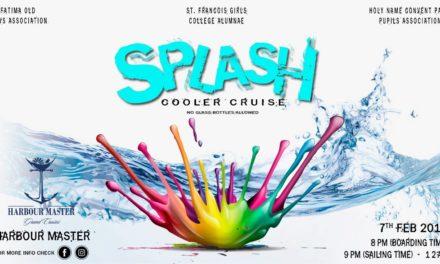 Splash – 7th February 2018!