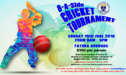 FOBA 2018 Windball Cricket Tournament
