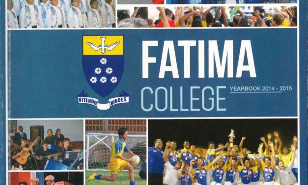 Fatima College School Annual 2014-2015
