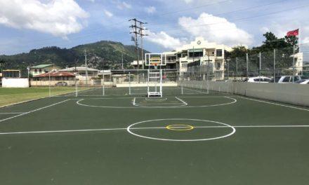 Basketball Court Upgraded