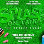 Splash on Land